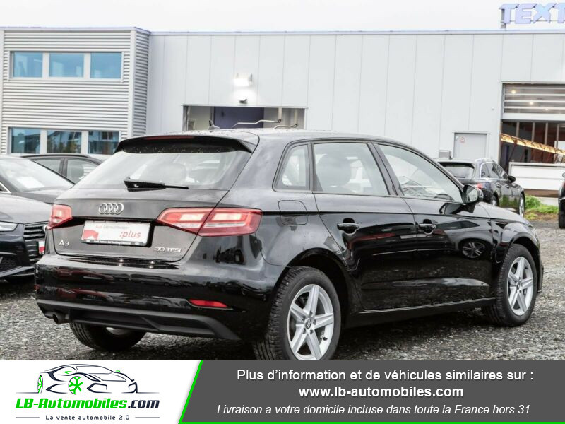 Audi A3 Sportback 33 TFSI Noir occasion à Beaupuy - photo n°3