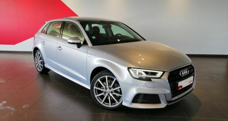 Audi A3 Sportback 35 TDI 150 S tronic 7 Design Luxe Gris occasion à Saint-Ouen
