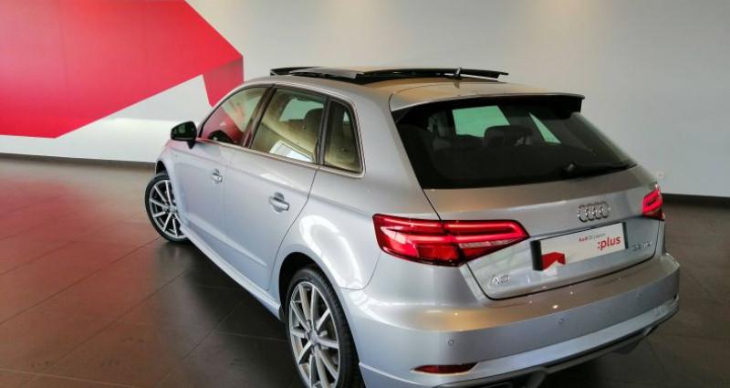 Audi A3 Sportback 35 TDI 150 S tronic 7 Design Luxe Gris occasion à Saint-Ouen - photo n°4