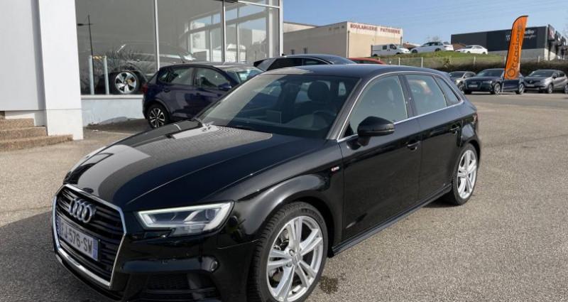 Audi A3 Sportback 35 TDI 150 S tronic 7 S Line Plus Noir occasion à Bourgogne