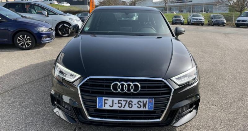 Audi A3 Sportback 35 TDI 150 S tronic 7 S Line Plus Noir occasion à Bourgogne - photo n°2