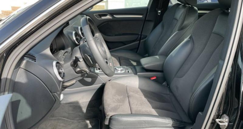 Audi A3 Sportback 35 TDI 150 S tronic 7 S Line Plus Noir occasion à Bourgogne - photo n°6