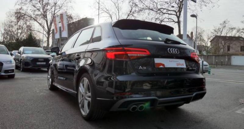 Audi A3 Sportback 35 TDI 150 S tronic 7 S Line Plus Noir occasion à Saint-Ouen - photo n°3