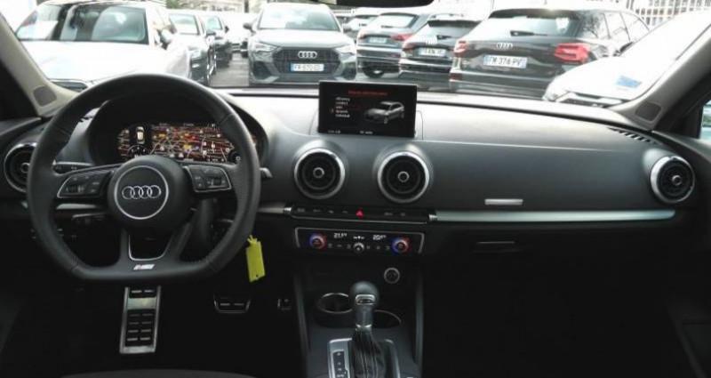 Audi A3 Sportback 35 TDI 150 S tronic 7 S Line Plus Noir occasion à Saint-Ouen - photo n°4