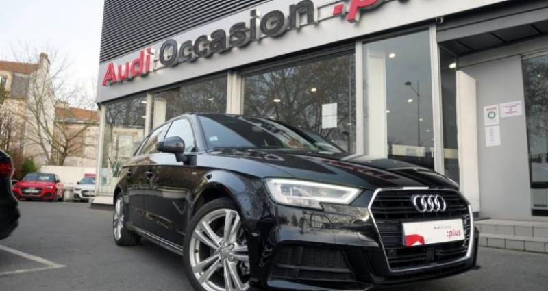 Audi A3 Sportback 35 TDI 150 S tronic 7 S Line Plus Noir occasion à Saint-Ouen