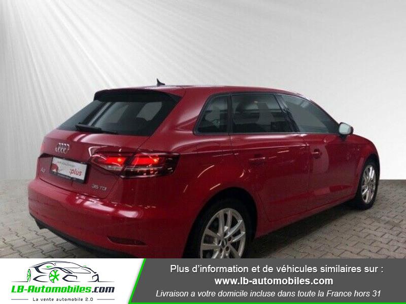 Audi A3 Sportback 35 TDI 150 Rouge occasion à Beaupuy - photo n°3