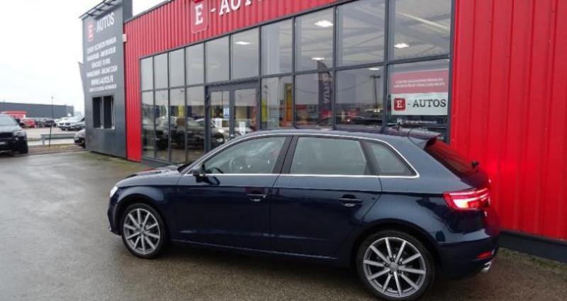 Audi A3 Sportback 35 TDI 150ch Design luxe S tronic 7 Euro6d-T Bleu occasion à Barberey-saint-sulpice - photo n°3