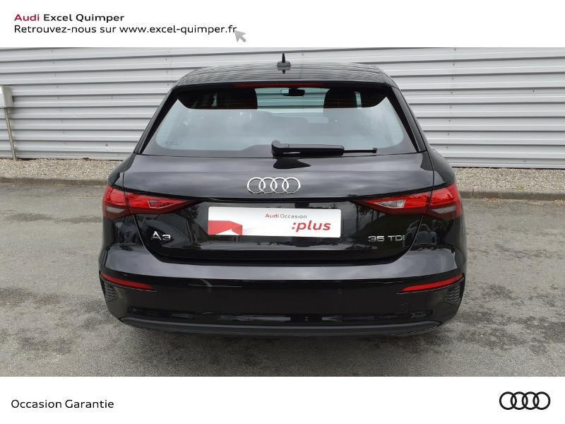 Audi A3 Sportback 35 TDI 150ch Design S tronic 7 Noir occasion à Quimper - photo n°5