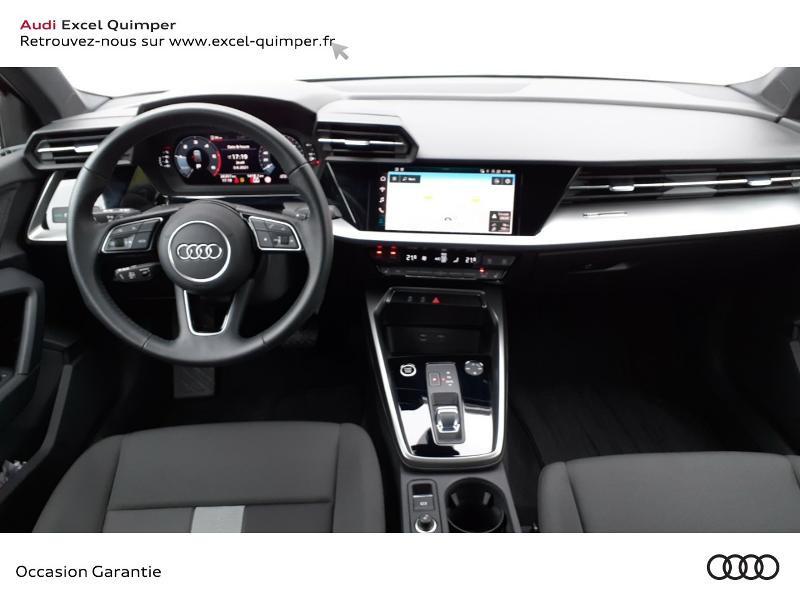 Audi A3 Sportback 35 TDI 150ch Design S tronic 7 Noir occasion à Quimper - photo n°6