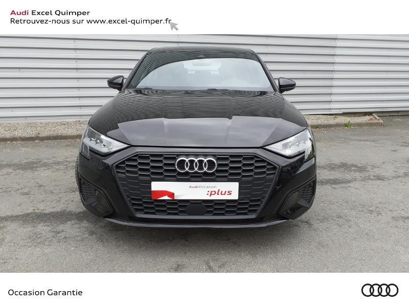 Audi A3 Sportback 35 TDI 150ch Design S tronic 7 Noir occasion à Quimper - photo n°2