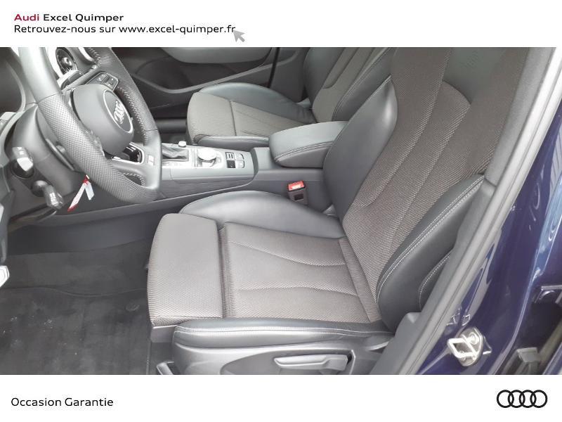 Audi A3 Sportback 35 TDI 150ch S line Plus S tronic 7 Euro6d-T 112g Bleu occasion à Quimper - photo n°7