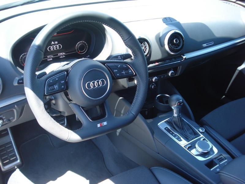 Audi A3 Sportback 35 TDI 150ch S line Plus S tronic 7 Argent occasion à Aurillac - photo n°17