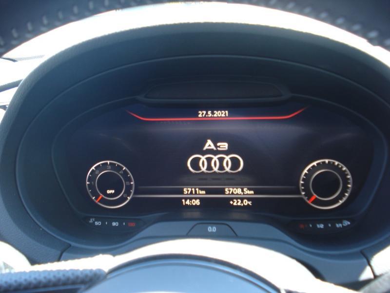 Audi A3 Sportback 35 TDI 150ch S line Plus S tronic 7 Argent occasion à Aurillac - photo n°4