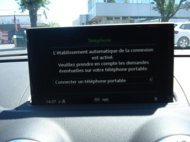 Audi A3 Sportback 35 TDI 150ch S line Plus S tronic 7 Argent occasion à Aurillac - photo n°8