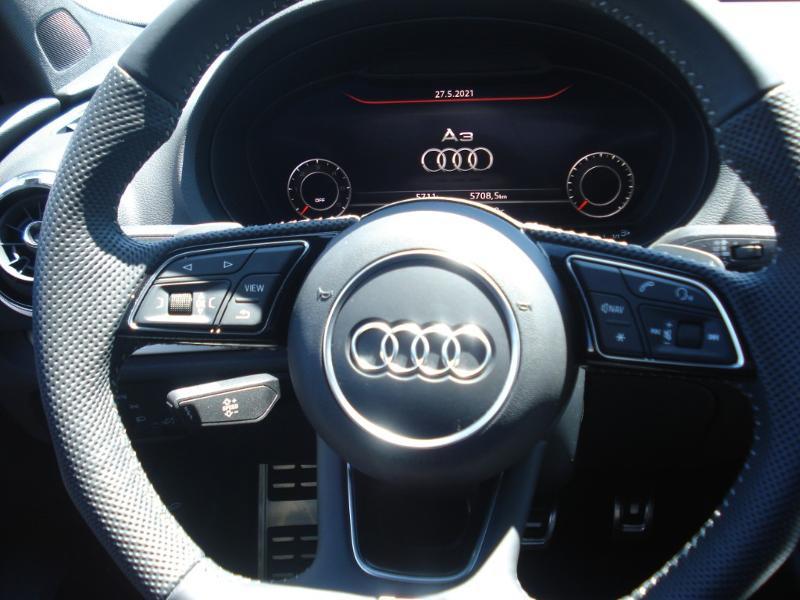 Audi A3 Sportback 35 TDI 150ch S line Plus S tronic 7 Argent occasion à Aurillac - photo n°16