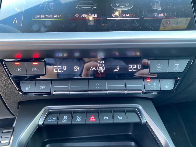 Audi A3 Sportback 35 TDI 150ch S line S tronic 7 Noir occasion à Albi - photo n°15