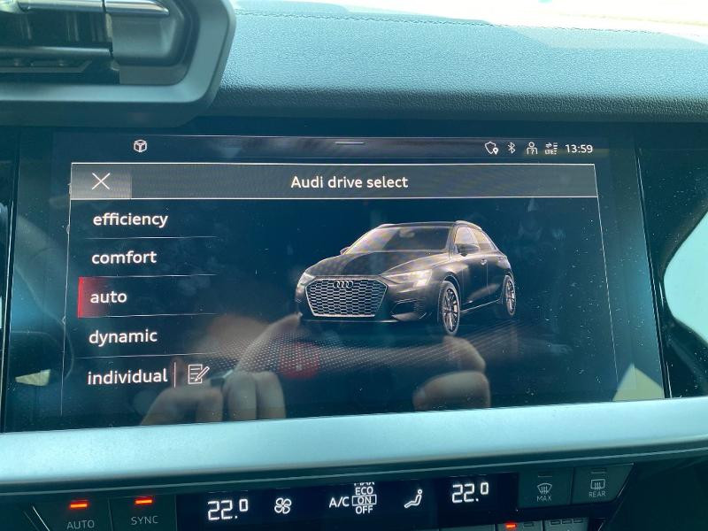 Audi A3 Sportback 35 TDI 150ch S line S tronic 7 Noir occasion à Albi - photo n°14