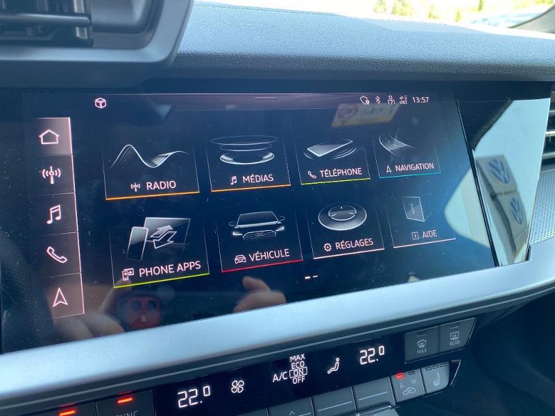 Audi A3 Sportback 35 TDI 150ch S line S tronic 7 Noir occasion à Albi - photo n°9