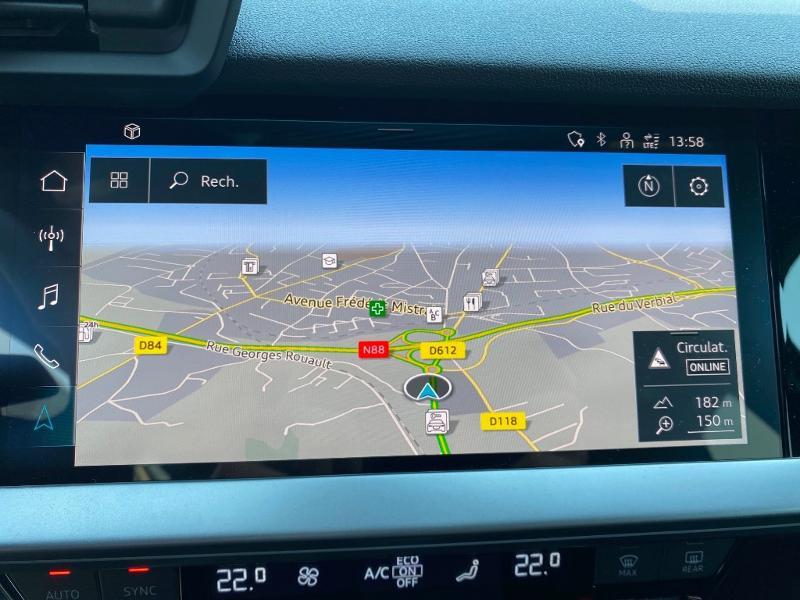 Audi A3 Sportback 35 TDI 150ch S line S tronic 7 Noir occasion à Albi - photo n°11