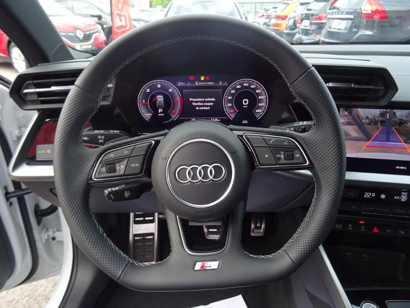 Audi A3 Sportback 35 TDI 150ch S line S tronic 7 Gris occasion à Barberey-Saint-Sulpice - photo n°8