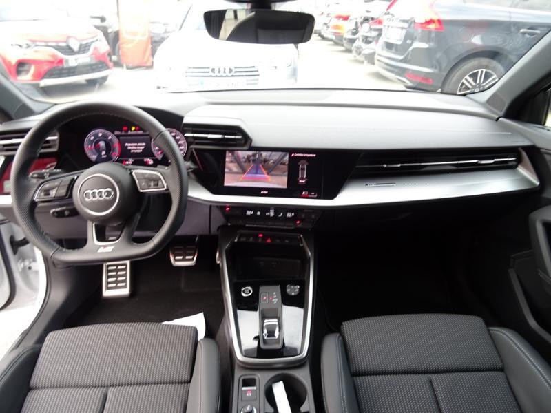 Audi A3 Sportback 35 TDI 150ch S line S tronic 7 Gris occasion à Barberey-Saint-Sulpice - photo n°7