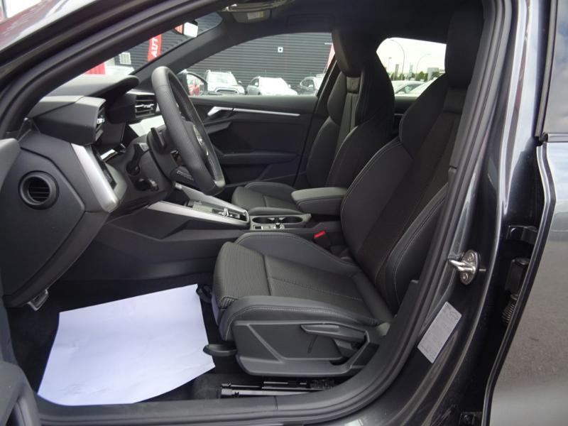 Audi A3 Sportback 35 TDI 150ch S line S tronic 7 Gris occasion à Barberey-Saint-Sulpice - photo n°5