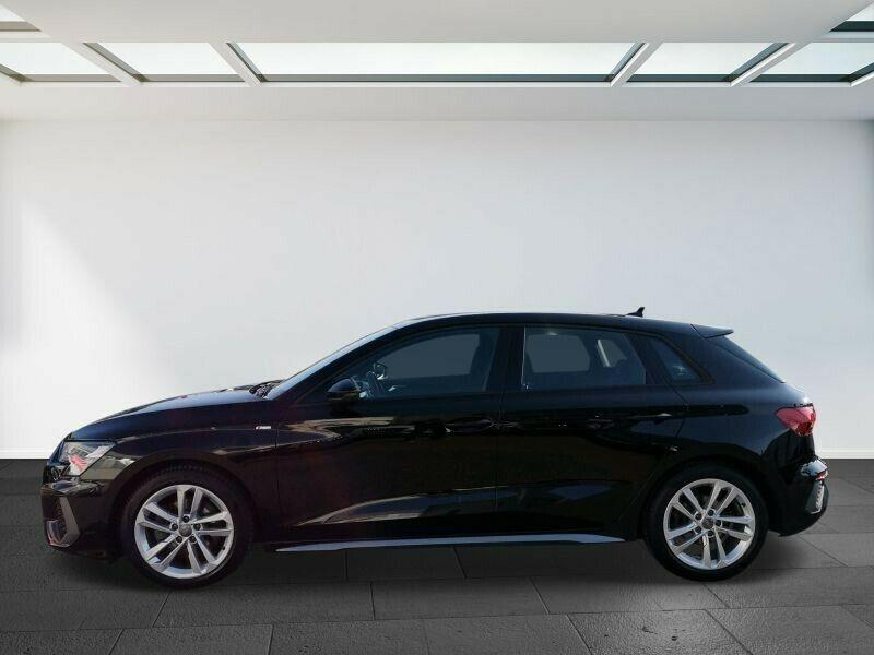 Audi A3 Sportback 35 TDI 150CH S LINE S TRONIC 7 Noir occasion à Villenave-d'Ornon - photo n°2