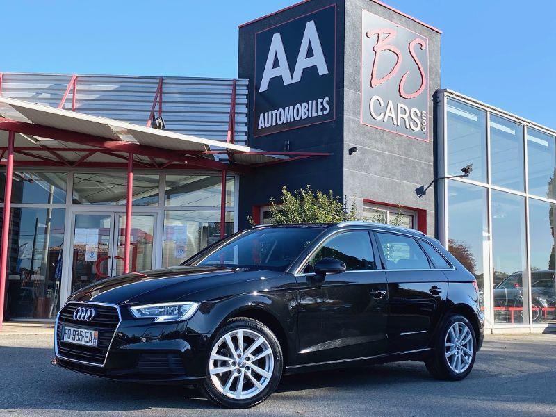 Audi A3 Sportback occasion 2019 mise en vente à Castelmaurou par le garage BS CARS.COM - photo n°1