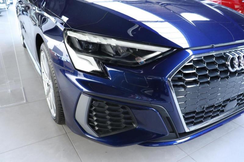 Audi A3 Sportback 35 TFSI 150 S line Bleu occasion à Aubière - photo n°8