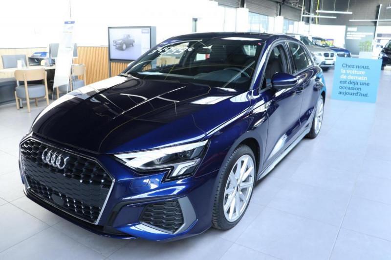 Audi A3 Sportback 35 TFSI 150 S line Bleu occasion à Aubière