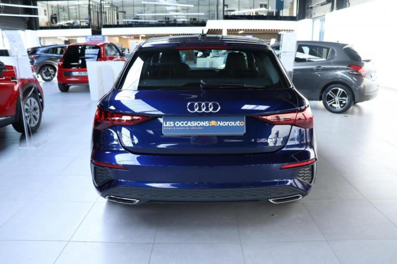 Audi A3 Sportback 35 TFSI 150 S line Bleu occasion à Aubière - photo n°4