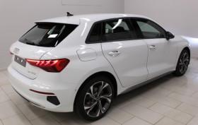 Audi A3 Sportback 35 TFSI 150 STRONIC 7 DESIGN LUXE PACK ASSISTANCE JA 18'' Blanc occasion à Biganos - photo n°3
