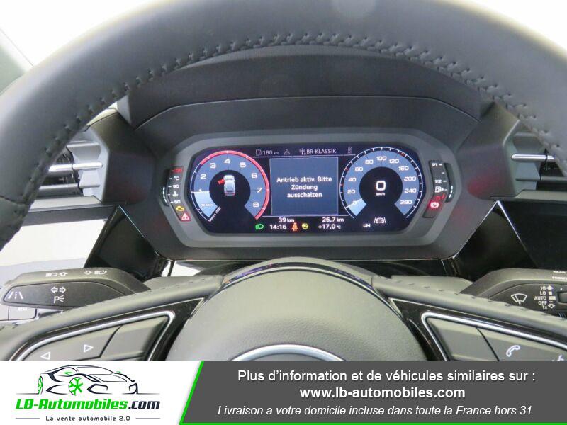 Audi A3 Sportback 35 TFSI 150 Noir occasion à Beaupuy - photo n°14
