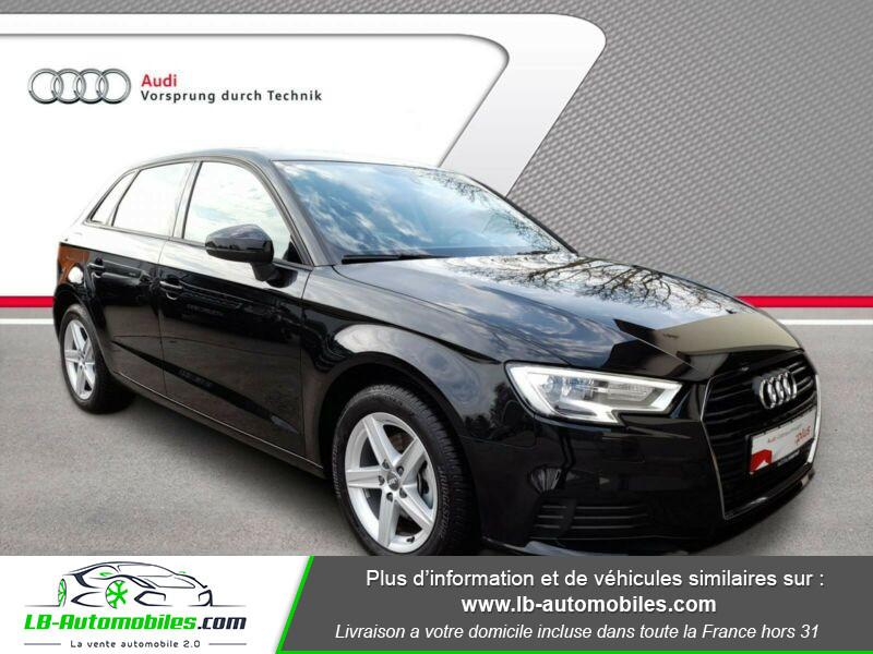 Audi A3 Sportback 35 TFSI 150 Noir occasion à Beaupuy - photo n°4