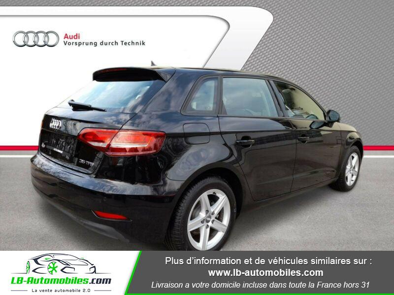 Audi A3 Sportback 35 TFSI 150 Noir occasion à Beaupuy - photo n°3