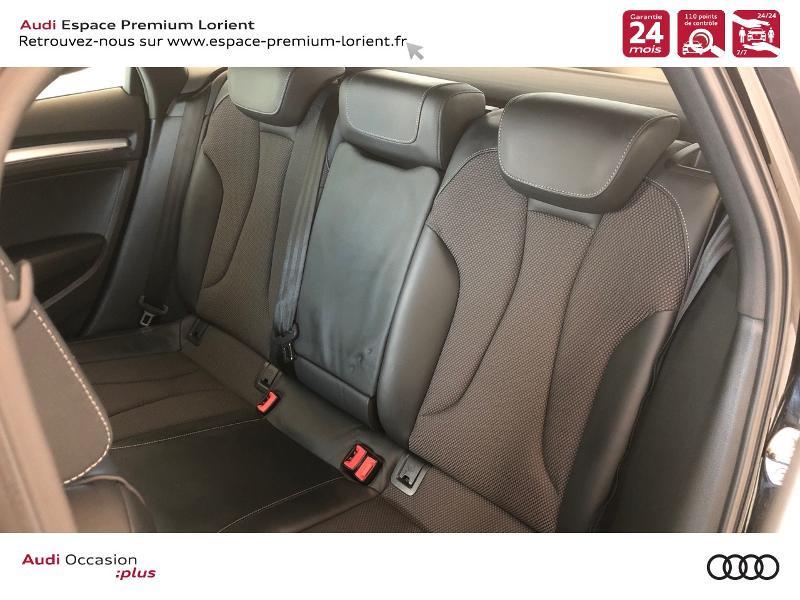 Audi A3 Sportback 35 TFSI 150ch CoD S line S tronic 7 Noir occasion à Lanester - photo n°8