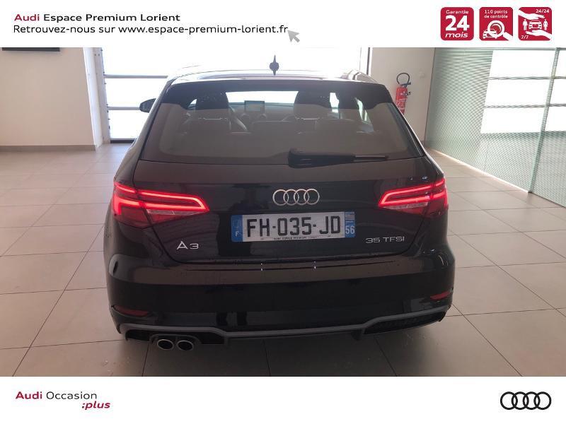 Audi A3 Sportback 35 TFSI 150ch CoD S line S tronic 7 Noir occasion à Lanester - photo n°5