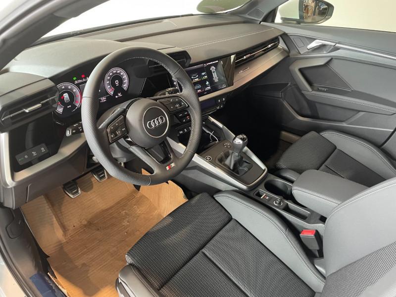 Audi A3 Sportback 35 TFSI 150CH COD S LINE Blanc occasion à Foix - photo n°10