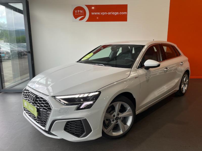 Audi A3 Sportback 35 TFSI 150CH COD S LINE Blanc occasion à Foix