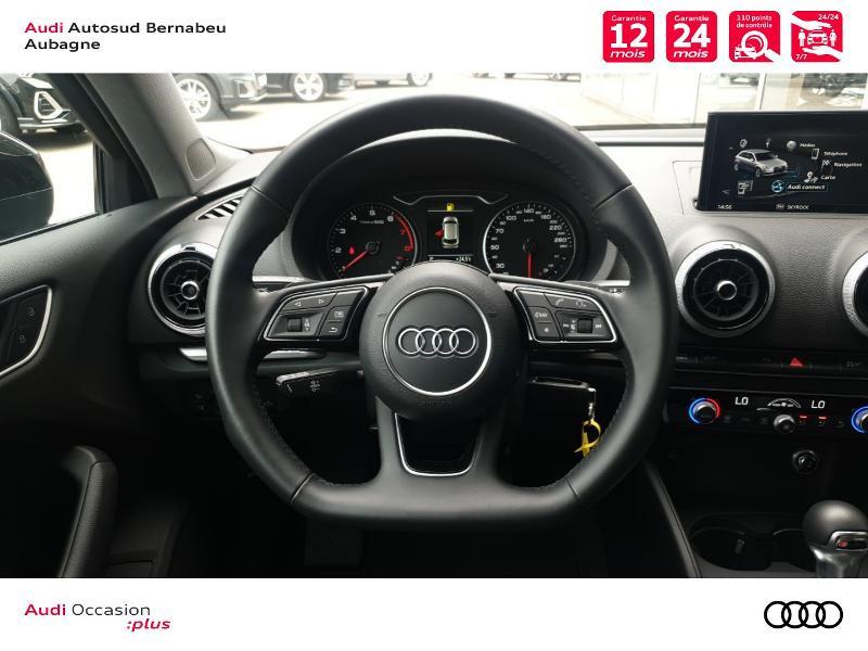 Audi A3 Sportback 35 TFSI 150ch CoD Sport S tronic 7 Euro6d-T Noir occasion à Aubagne - photo n°7