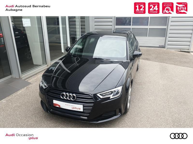 Audi A3 Sportback 35 TFSI 150ch CoD Sport S tronic 7 Euro6d-T Noir occasion à Aubagne - photo n°4