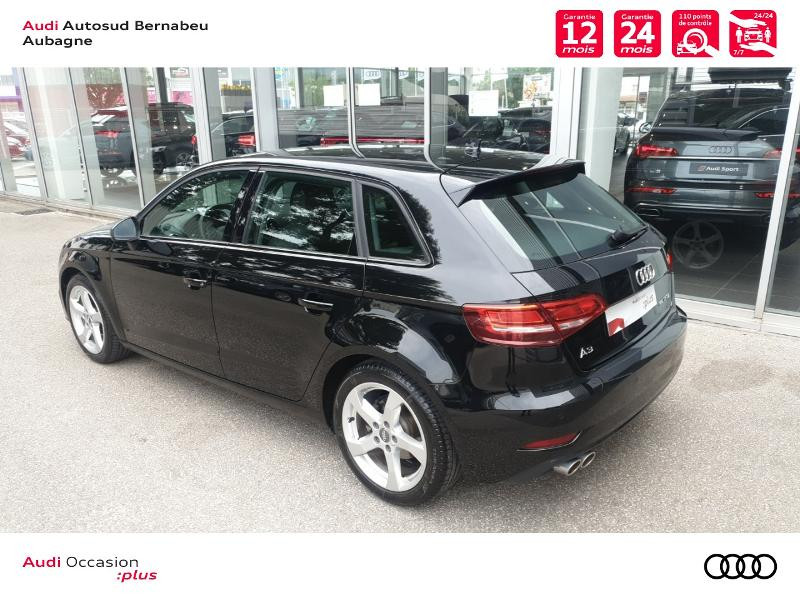 Audi A3 Sportback 35 TFSI 150ch CoD Sport S tronic 7 Euro6d-T Noir occasion à Aubagne - photo n°3