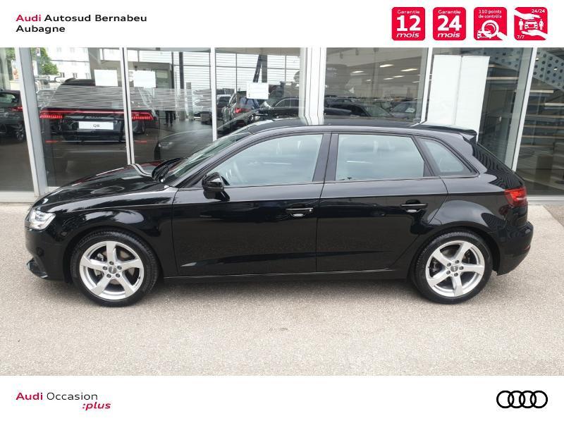 Audi A3 Sportback 35 TFSI 150ch CoD Sport S tronic 7 Euro6d-T Noir occasion à Aubagne - photo n°2