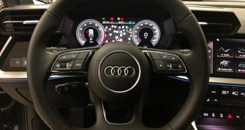 Audi A3 Sportback 35 TFSI 150ch Design Luxe S tronic 7 Gris occasion à Chambourcy - photo n°5