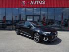 Audi A3 Sportback 35 TFSI 150ch Design Luxe S tronic 7 Noir à Barberey-Saint-Sulpice 10