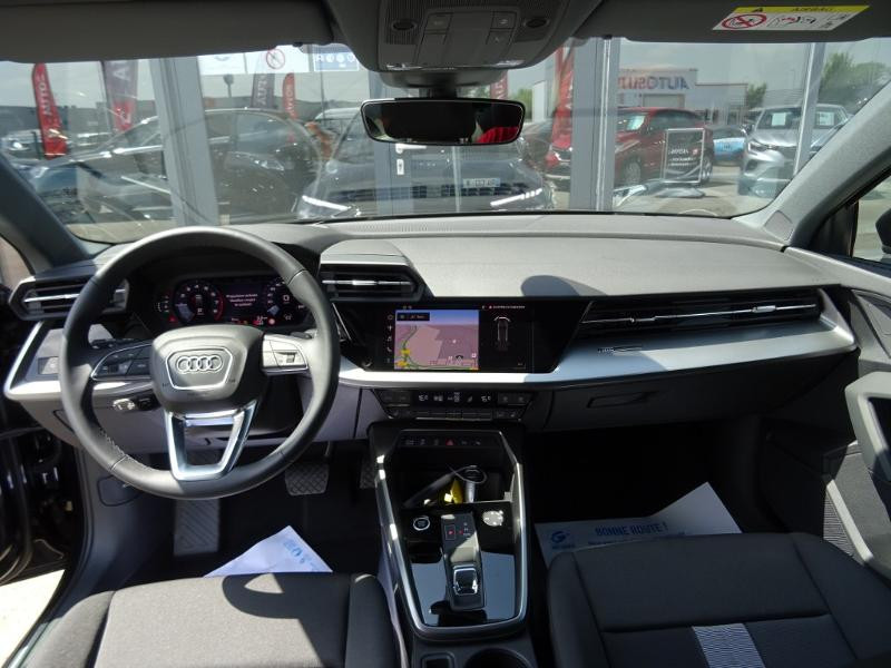 Audi A3 Sportback 35 TFSI 150ch Design Luxe S tronic 7 Noir occasion à Barberey-Saint-Sulpice - photo n°12