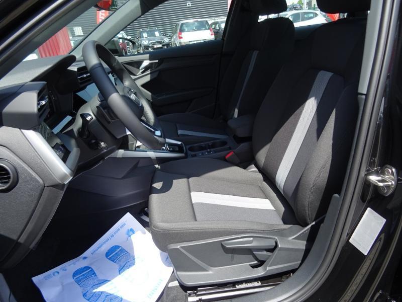 Audi A3 Sportback 35 TFSI 150ch Design Luxe S tronic 7 Noir occasion à Barberey-Saint-Sulpice - photo n°10