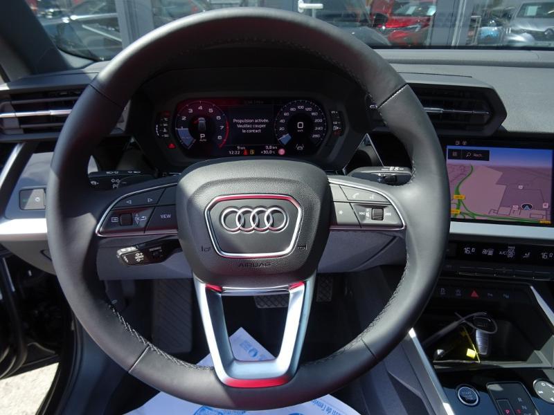 Audi A3 Sportback 35 TFSI 150ch Design Luxe S tronic 7 Noir occasion à Barberey-Saint-Sulpice - photo n°13