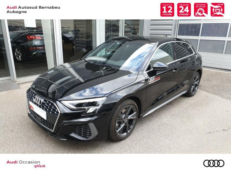 Audi A3 Sportback 35 TFSI 150ch S line S tronic 7 Noir occasion à Aubagne