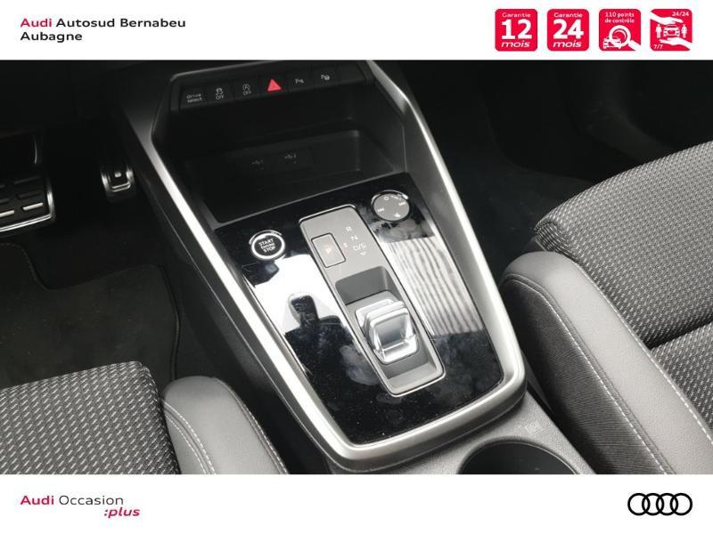 Audi A3 Sportback 35 TFSI 150ch S line S tronic 7 Noir occasion à Aubagne - photo n°7